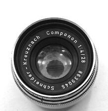 Schneider-Kreuznach Componon Lens Focal Length 28mm @ f4 C-mount