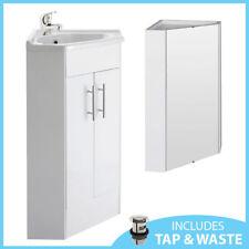 Corner Bathroom Vanity Unit In Home Bathroom Sinks Ebay