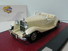 """Matrix 50407-031 - Delage D8S Villars Roadster Baujahr 1933 in """" weiß """" 1:43"""