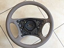 MERCEDES BENZ E CLASS  LEATHER STEERING WHEEL 1042470,  6015835