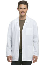 "Dickies Eds Professional Whites 31"" Men's Consultation Lab Coat-New-Free Ship"
