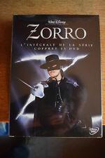 Zorro Classic TV series- Walt Disney- Guy Williams season 1,2+3 DVD New Region 2
