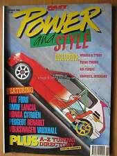 Fast Car Power & Style Summer 1995 Fiat Uno Turbo Fiesta CRX Golf Delta 205 Clio