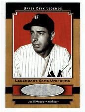 Joe DiMaggio 2001 Upper Deck Legends Legendary Game Jersey #JJD  SP