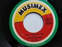 "CHAYITO VALDEZ - San Juan Del Rio / Se Marcho 1974 RANCHERA 7"" Musimex Latin"