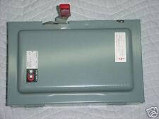 CUTLER HAMMER 60 AMP. SAFETY SWITCH 3 POLE ( NEW)