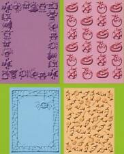 CUTTLEBUG embossing folders set of 4 MINI MONSTERS REDUCED
