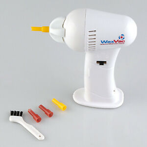 Electric Cordless Vacuum Ear Cleaner Wax Vac Cleaning Remover Painlessly Tool