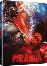 Piranha Limited Edition Steelbook Brand New Sealed UK Seller