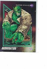 Jimmy Palmiotti Autograph on 1992 Marvel Abomination card Incredible Hulk Foe