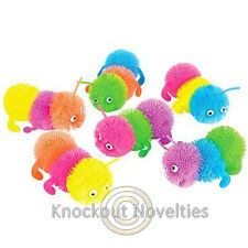 "5"" Caterpillar Puffer Ball Novelty Gift Item Play Fun"
