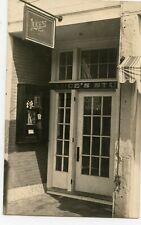 Real photo R.P.P.C. postcard Old Luce's Studio Farmington Maine