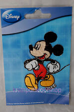Iron on Fabric Motif  - Strolling Mickey Mouse - Official Disney Motif