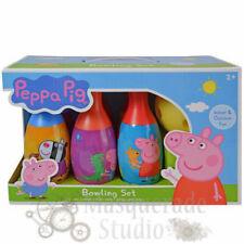 Nick Jr. Peppa Pig Bowling Set Toy Gift Set For Kids Indoor Outdoor Fun