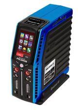 Commandes radio et électroniques bleus pour véhicule radiocommandé Graupner