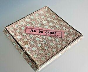 -satz Patience Antik Spiel Der Quadrate Puzzlespiel Adress-Etiketten S. C. Paris