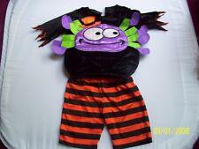 M & S 3-6 mois et araignée Halloween Costume, porté une fois