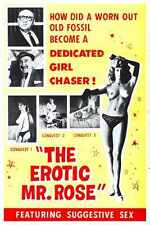 Erotic Mr Rose Poster 01 A2 Box Canvas Print