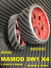 Mamod Tyres SW1 Steam Wagon All Ribbed   set of 4. Mamod Spares & Parts.