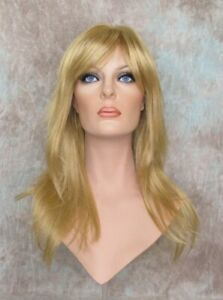 Trillian Butterscotch Blonde Long Wig Razor Layers Skin Part Bangs CLOSE OUT