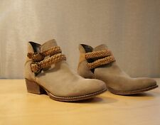 Rebel taupe ankle boots Sz. 8
