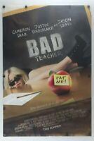 "Bad Teacher 2011 Double Sided Original Movie Poster 27"" x 40"""