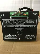 ANAHEIM AUTOMATION BLD75-1 STEP MOTOR DRIVE