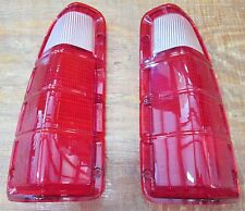 1972-1980 DODGE TRUCK / PLYMOUTH POWER WAGON TAIL LIGHT LENS ONLY ( GB-4700-PR )