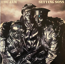 The Jam - Setting Sons (LP) (G-VG/VG-)