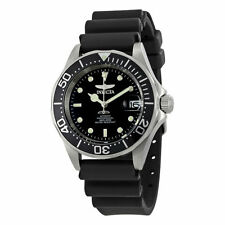 Invicta Men's 9110 Pro Diver Collection Automatic SS Case Black Rubber Watch