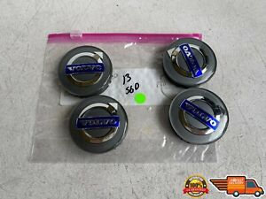 2011-2017 VOLVO S60 WHEEL RIM HUBCAP HUB CAP CENTER COVER SET OF 4 OEM 11-17
