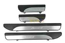 4 Door Stainless Door Sill Plate Guard For Honda Accord MK9 2013-2014 4PCS