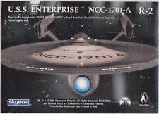 STAR TREK 30 YEARS PHASE 1 GOLD REGISTRY PLAQUE R2 USS ENTERPRISE NCC-1701-A
