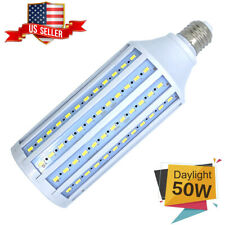 Corn LED Bulb Super Bright Light 168-Chip E26 5000lm 50W Cool Daylight 6000K USA