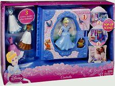 NEW Disney Princess Favorite Moments Storybook Cinderella Playset Polly Pocket