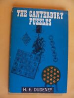 The Canterbury Puzzles And Other Curious Problems by Henry Ernest Dudeney 1958