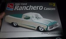 AMT 1961 FORD RANCHERO PICKUP 1/25 Model Car Mountain KIT FS 8062