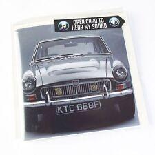 MGC GT 1968 Sound Greeting Card