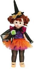 "Madame Alexander Abracasparkle Halloween Wendy Doll +Free Doll Stand 8"" NEW NRFB"