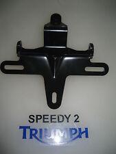 Triumph Thruxton 900 EFI plaque d'immatriculation arrière & Indicateur Support