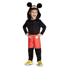 Toddler Boys Mickey Mouse Clubhouse Hooded/Hood Ears Halloween Costume~2T small
