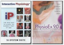 PhysioEx 9.0 & Interactive Physiology 10 System Suite CDROM Windows & Mac