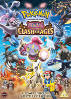 Pokémon the Movie: Hoopa and the Clash of Ages DVD (2016) Kunihiko Yuyama cert