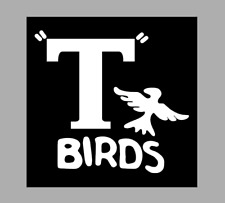 T shirt iron on vinyl HTV transfers A4 T birds white  Grease,stag, Hens, Party