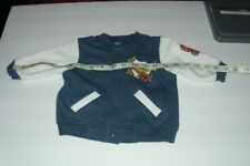 Babyworks  Sweater Snap Front Size 3-6 mo. Blue with White Sleeves-GB-5