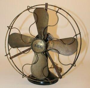 Ventilator AEG Alt Antik