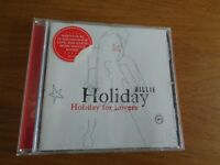 HOLIDAY BILLIE - BILLIE HOLIDAY FOR LOVERS - CD -album,free postage uk
