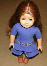 AMERICAN GIRL DOLL 'SAIGE' WITH DRESS AND BOOTS AS PICTURED VERY NICE CONDITION