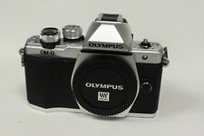 Olympus OM-D E-M10 Mark II Silver DSLR Camera Body Boxed