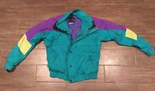 VTG The North Face Jacket Extreme Light 80's 90's Ski Coat Medium Teal Purple